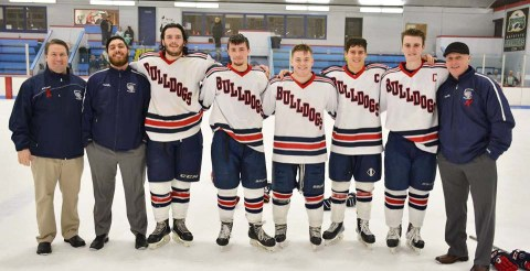 Seniors and coaches