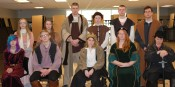 The Cast of Macbeth Veritas Photo