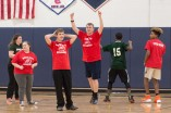 Mike Bodley and Nick Cara celebrate a Rockland basket. photo courtesy of William Marquardt https://c6bill.smugmug.com/Sports/Unified-Sports/i-ZdSf6vL/A
