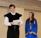 Hamlet receives his letters from Ophelia