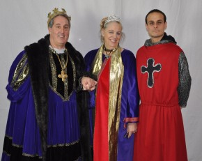 King Graziano, Queen Patton and Royal Guard Harrison