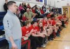Rockland coach Mike Doyle surveys the action. Veritas photo