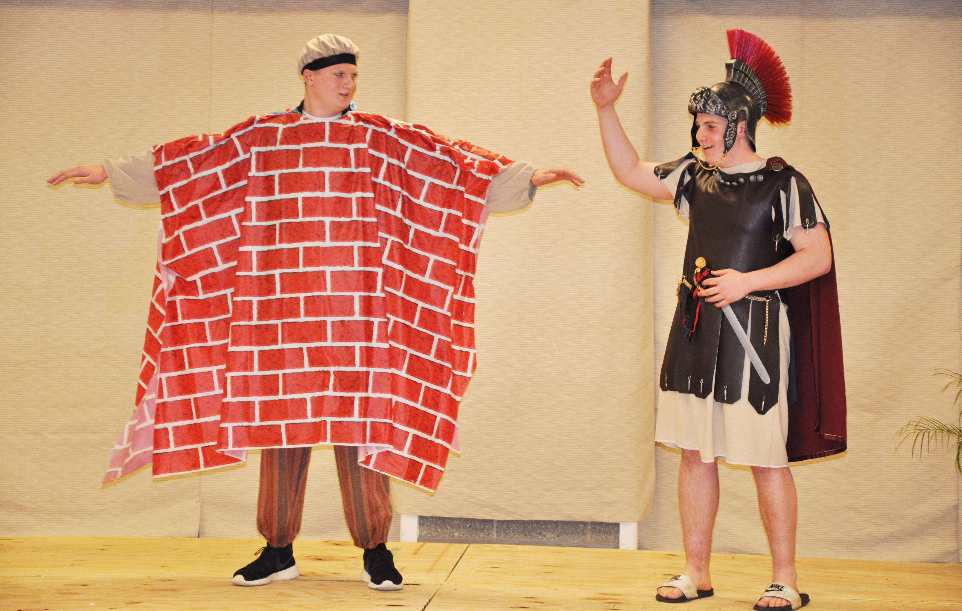 Pyramus And Wall The Veritas