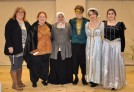 Ms. Cahill and her cast of Romeo and Juliet: Kellie Berry, Tahmya Capra, Ryan Struzziery, Jurnee Dunn and Erin Field