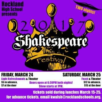 shakespeare festival logo