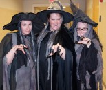 Witches: Melissa Shaughnessy, Joanne White and Jill Fagan