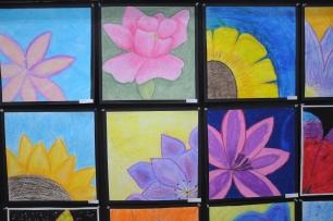 Grade 7 Flower Still Life.