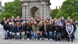 At Trinity College in Dublin, Ireland