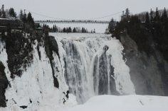The falls in Quebec