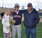Brett Schneider along with his mom and dad, Heather and Kenneth.