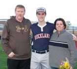 Chris McHugh with his parents, Patti and Will.