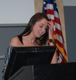 2017-2018 SGC President, Hannah Murphy