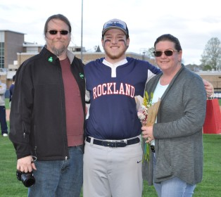 Joe Taft and his parents, Michelle and Gary.
