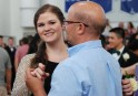 Shannon Lindahl and her dad