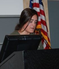 Freshman class president, Alyssa Patten
