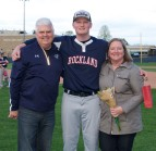 Ryan Leavitt and his parents, John and Christine.