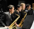 Saxophone section on Sunday, April 30.