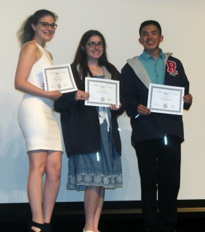 Lauren Zaremba, Erin Field and Sean Vo.