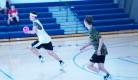 Andrew Starkey advances the ball. photo by Julian Starkey