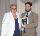 Charles Tetzlaff was inducted into the Rockland High School Academic Hall of Fame on June 7.
