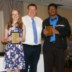 Bonnie Gasdia and Mireese Wilson received music achievement awards.