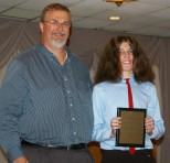 Zachary Webb received a Social Science/History award.