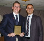 John Ellard was the Overall Academic Achiever in Grade 10