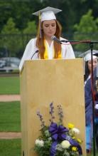 Class of 2017 President Kaylee Patten
