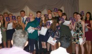 Sophomore letter winners