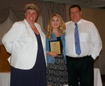 Madeline Gear received a mutl-Award in Communication/Digital Media, and Physical Education