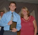 Michael Ebersole was the winner of a Technical Ed. academic award