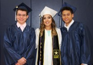 Kevin Prado, Renata Batista, and Leonardo daSilva