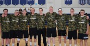 Silent Assasins. From left: Devin Donnelly, Mike McPeck, Lou Casey, Jeffre Donahue, Brett Schneider, Ryan Leavitt, Mike Flaherty, Chris McHugh and Zach Franovich. photo courtesy of Ms. Walsh