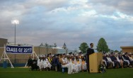 Dr. John Harrison, Principal of RHS speaks to the Class of 2017Veritas photo