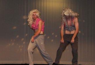 Chris Penney (left) and Aiden Glennon