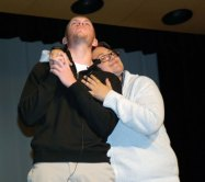 """Chris Penney lip syncs James Blunt's """"You're Beautiful"""" to Ms. Hoyo"""