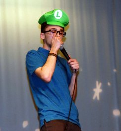 Elie Csubak brilliantly produced Mario game noises.