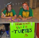 Erin Kearns and Maddie Gear are Teenage Mutant Ninja Turtles: Can you see who is who?