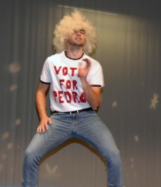 Jake Lauria in a scene from Napoleon Dynamite