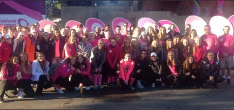 The Rockland group at the Making Strides against Breast Cancer Walk last year.