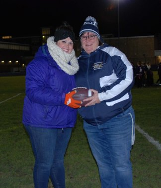SGC advisor Joanne White and jr. coach Sharon McGonnigal