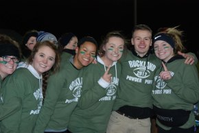 Sydney McKenna, Michelle Downey, Janessa Libby, Hannah Boben, Jimmy Fitzgerald and Hope Geary.