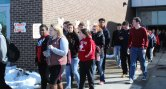 RHS students participate in walkout