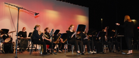 The band performed on Thursday night. Veritas photo
