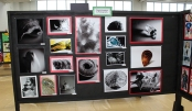 Digital Imaging and Photography exhibit. Veritas staff
