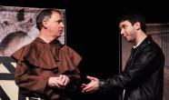 Steven Vaughan and David Makransky as Friar Lawrence and Romeo