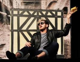 Mercutio played by Tyler Rosati