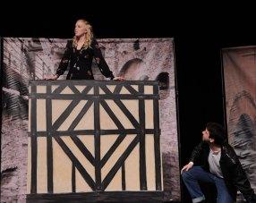 """Balcony scene: """"Speak again bright angel."""""""
