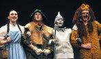 Emily Gaboriault (Dorothy), Ryan Struzziery, Rebekah Panaro, Ryan Mott