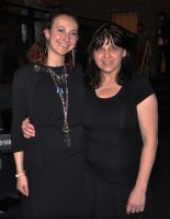 Director, Michelle Booth, right, and Victoria McComb, asst. director of The Wizard of Oz.